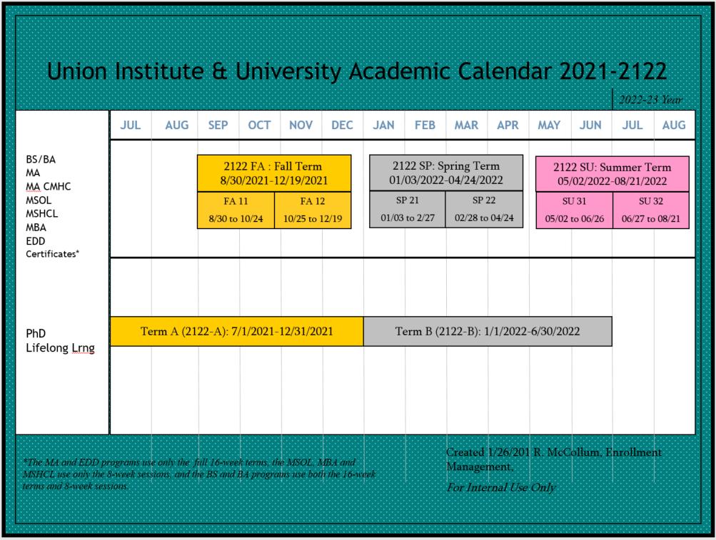 Su Academic Calendar 2022.Academic Calendar Main View Schedule Of Classes Campusweb Home